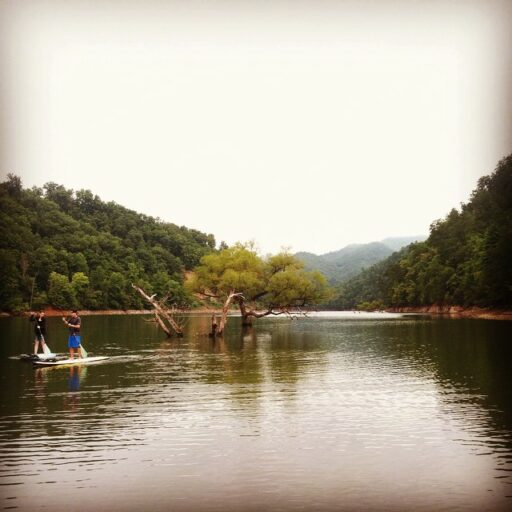 SUP Paddleboards Fontana Lake with Bryson City Outdoors