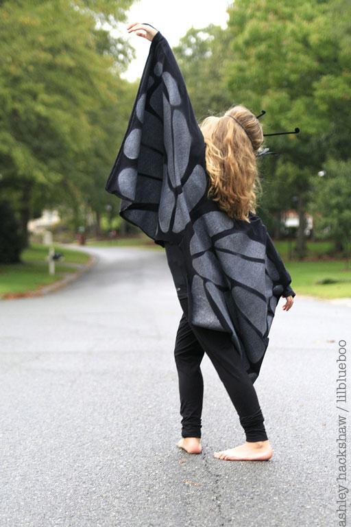 DIY Butterfly Wings Costume