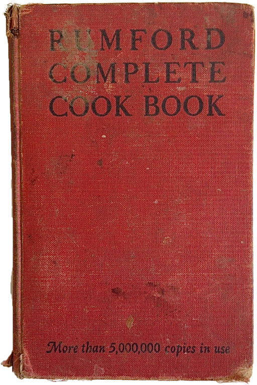Vintage Cookbook - Rumford Cook Book 1941