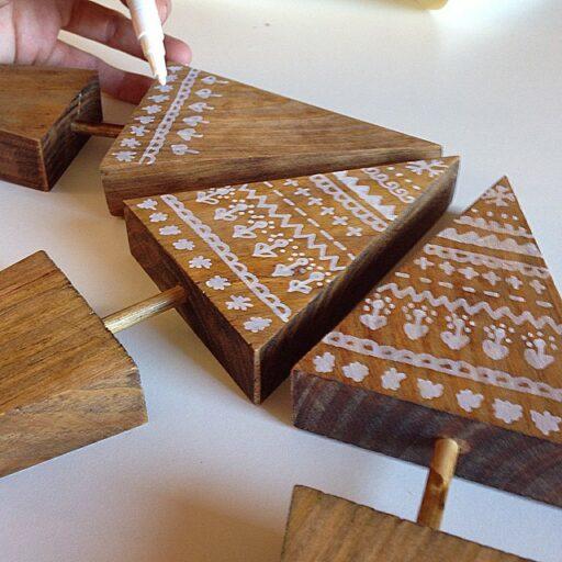 Rustic Handmade Christmas Decor