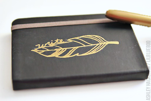 Sharpie Project Idea: customized journal or sketchbook