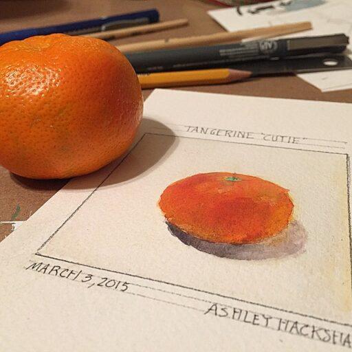 Painting an Orange