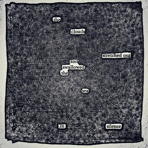 Found Poems : How to Find a Poem - Blackout poem