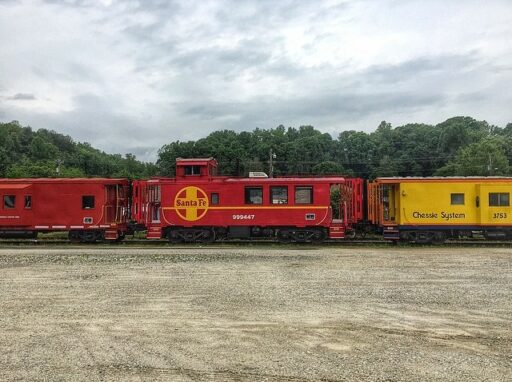 Train Caboose - Great Smoky Mountains Railroad