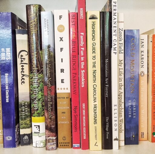 Books on the Smoky Mountains National Park and Bryson City