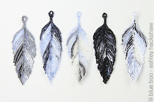 Plastic Feathers Made with 3Doodler Printing Pen