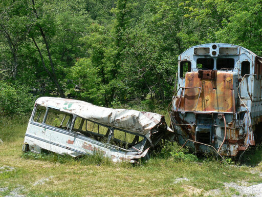 The Fugitive Train Wreck Dillsboro NC