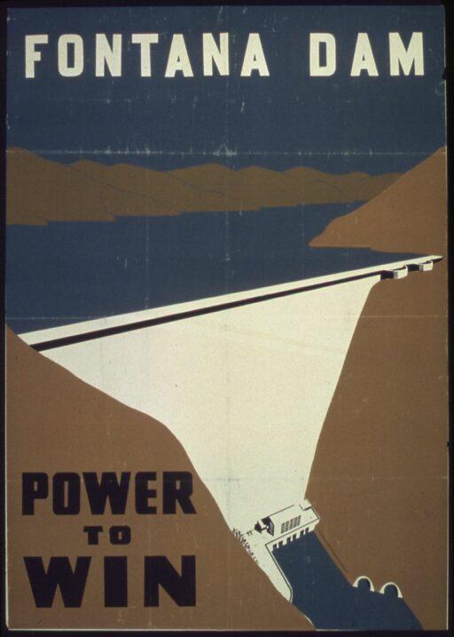 Fontana Dam War Poster