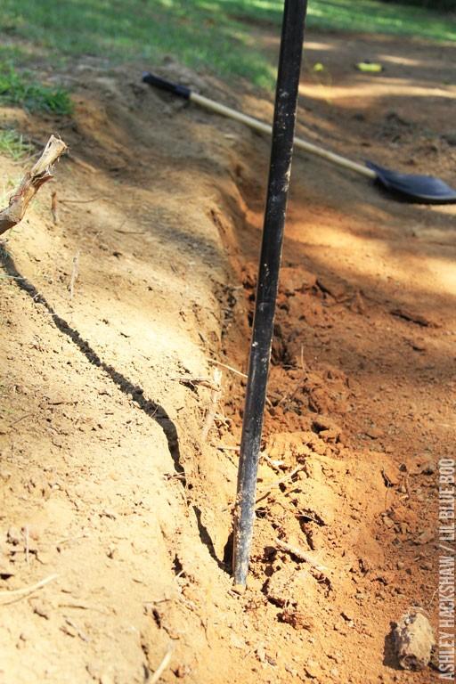 how to level garden soil