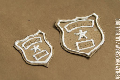 Make a Police Badge