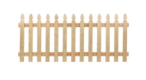 pine fence panels