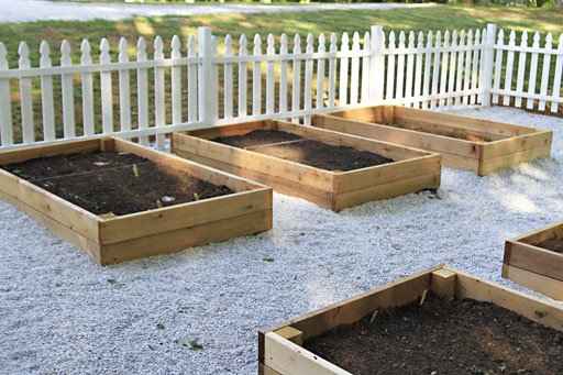 building a garden box raised bed