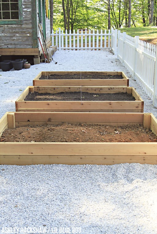 raised garden bed dimensions