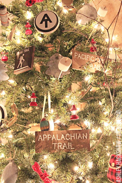 vintage christmas craft ideas - A Walk in the Woods Tree