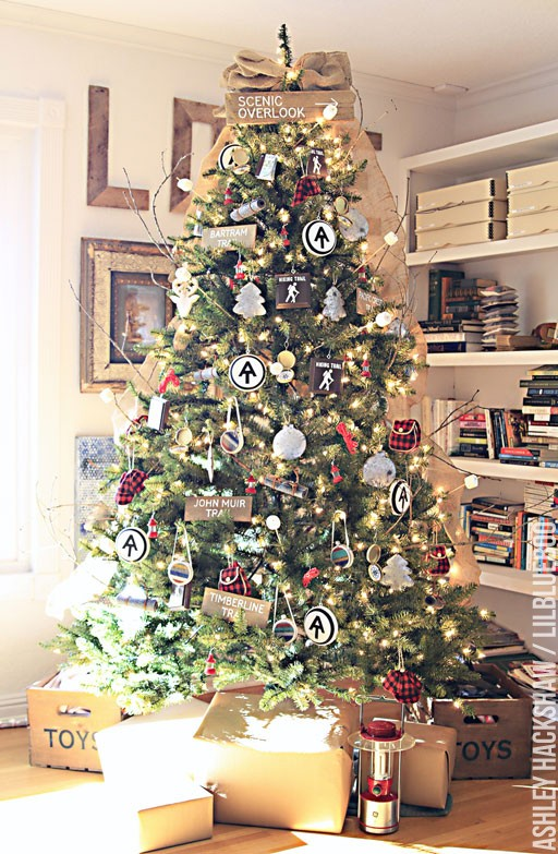 Rustic Christmas Tree Ideas