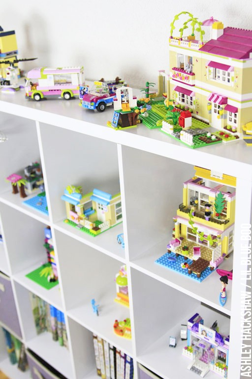 Lego friends storage ideas - Play room and kids room organization