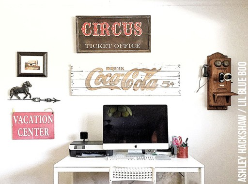 How to Make a Vintage Looking Wooden Sign