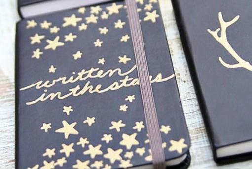 Valentines Day Handmade DIY - Sharpie Journals