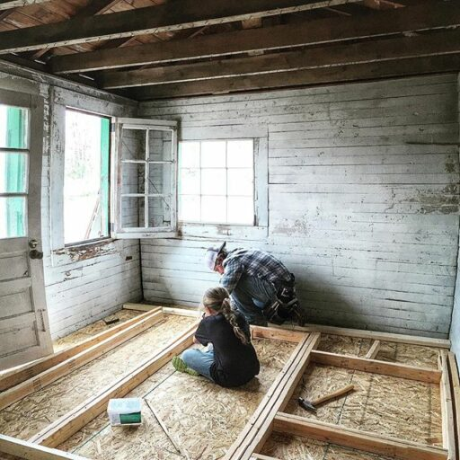 Converting a shed to a chicken coop and potting shed