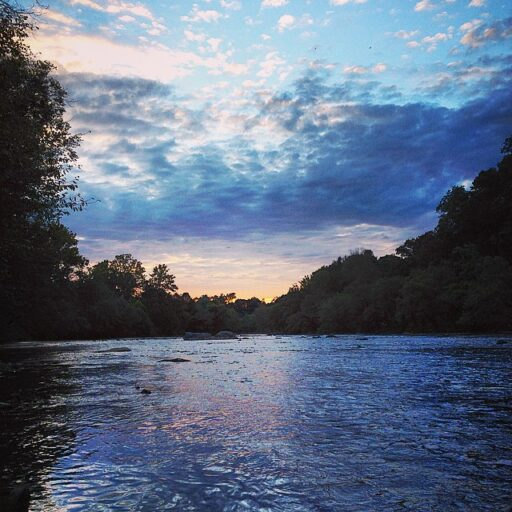 famous quotes rivers - Tuckasegee at Sunset