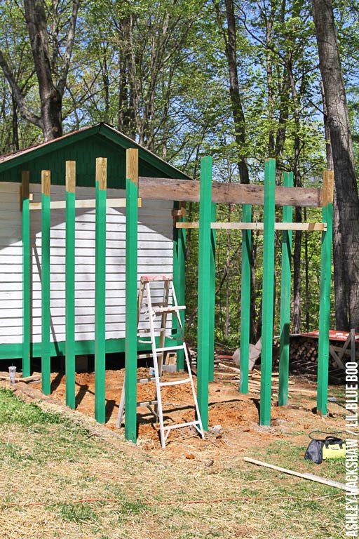 Tips for building a chicken run and coop from a shed