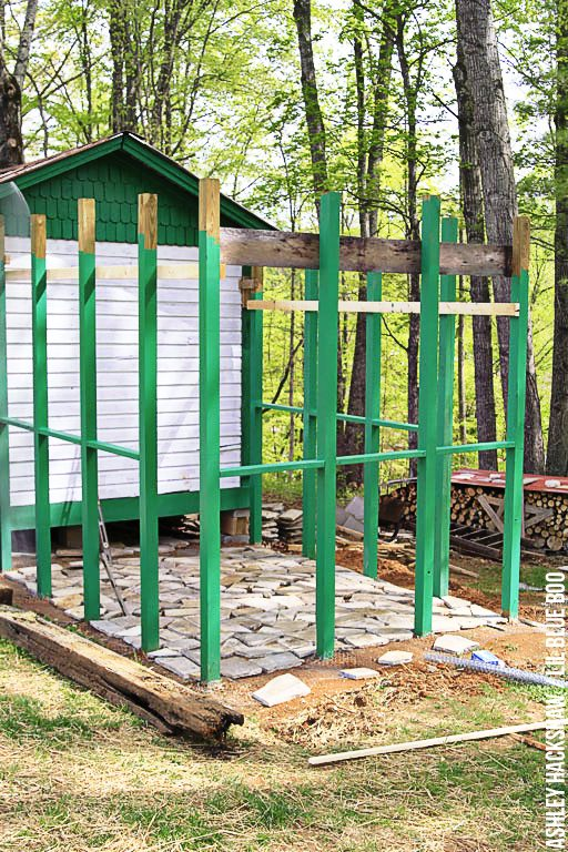 Building the ideal chicken run - Chicken Run plans