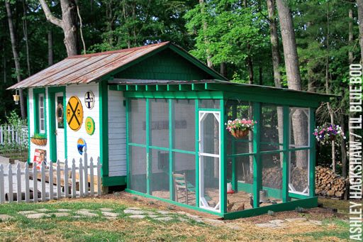 Chicken Coop Ideas and Pictures - Chicken coop theme