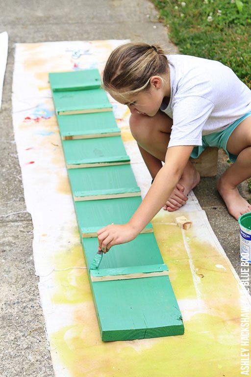 How to build a chicken coop ramp - DIY chicken ramp