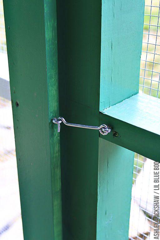 chicken coop door security