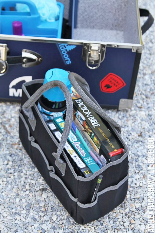 best trunk for summer camp - trunk accessories