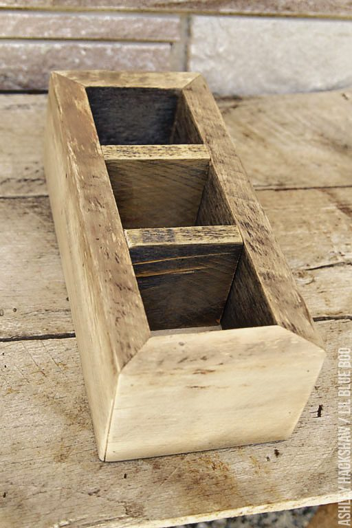 reclaimed and recycled wood project