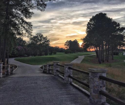 Carmel Country Club Sunset Charlotte, NC