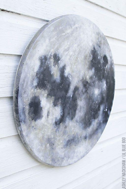 moon and stars nursery decor - Moon for a nursery or space themed room - moon for classroom