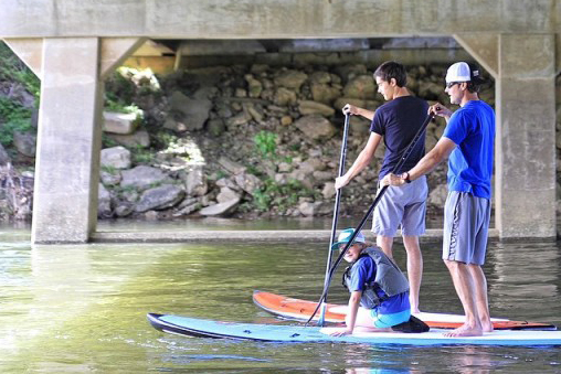 Paddeboard and kayaking in the Smoky Mountains and Nantahala area