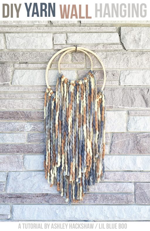 DIY Yarn Wall Hanging