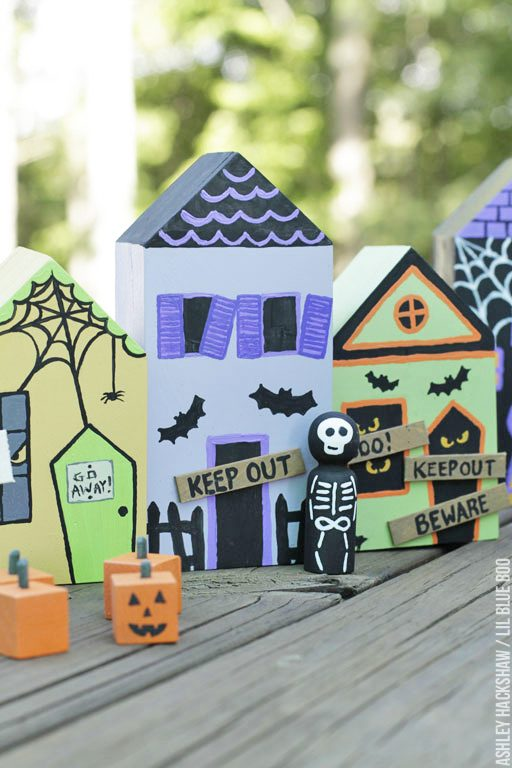 Halloween village displays - Make Your Own