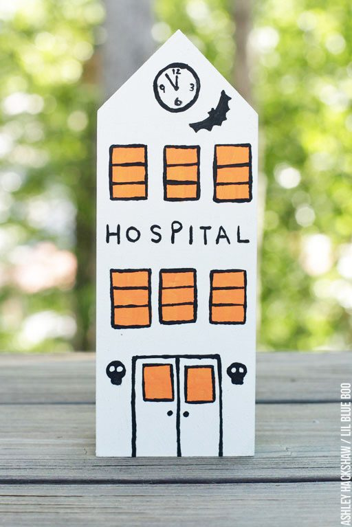 Haunted Halloween Village - Haunted Hospital