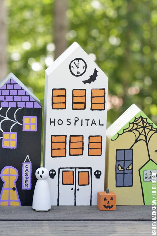 halloween party decor ideas - Table and window decor