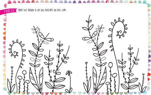 How to Doodle Flowers