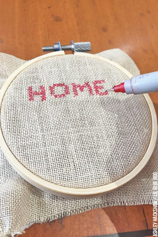 How to Cross Stitch Without Sewing!
