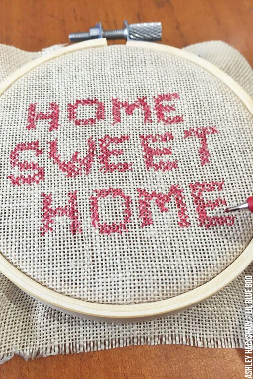 How to Fake Cross Stitch and Embroidery