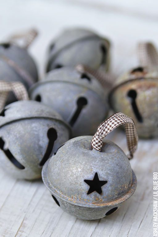 How to make rustic jingle bells - How to Rust Items for that Primitive Look