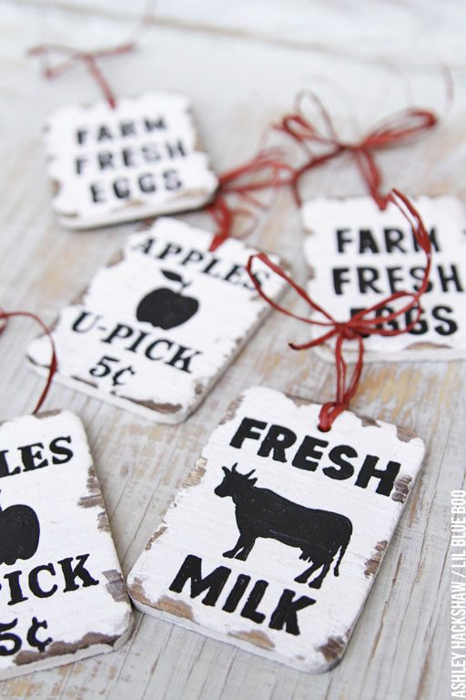 rustic wood christmas signs