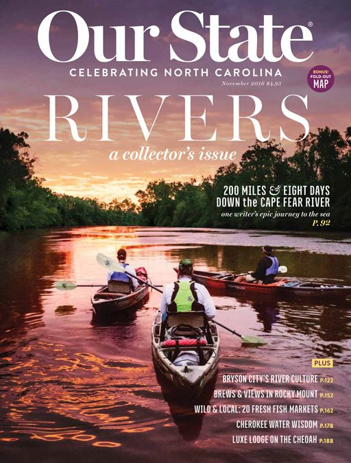 Our State River Issue - Ashley Hackshaw Bryson City Leigh Ann Henion