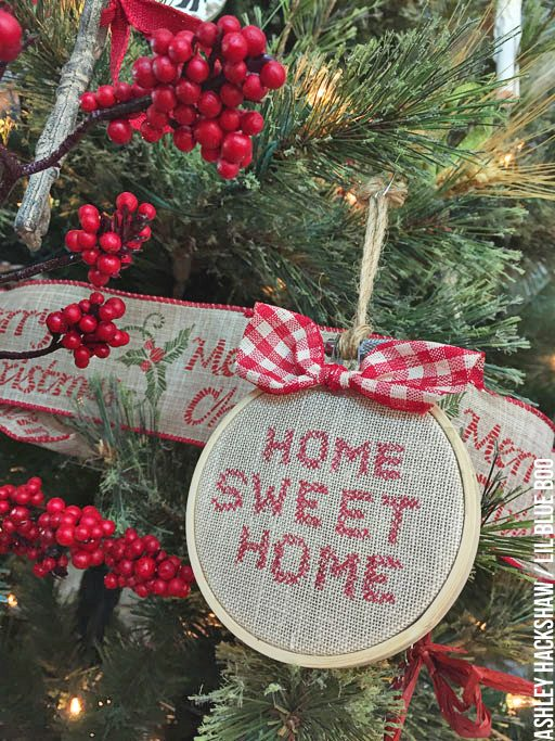 Handmade Country Christmas Decorations