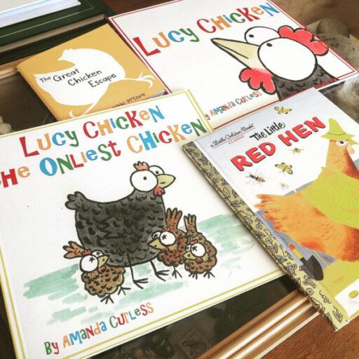 Cute Chicken Themed Books - Lucy Chicken