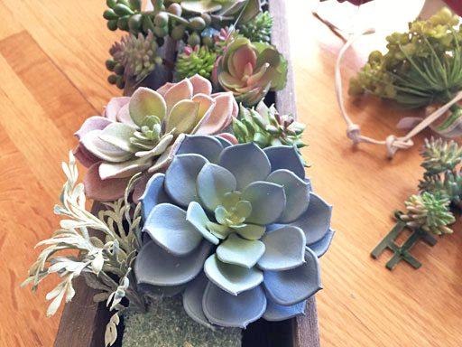DIY Artificial Succulent Arrangement Tutorial