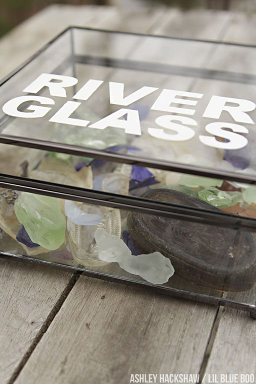 How to Display a Sea Glass Collection #michaelsmaker #makeitwithmichaels