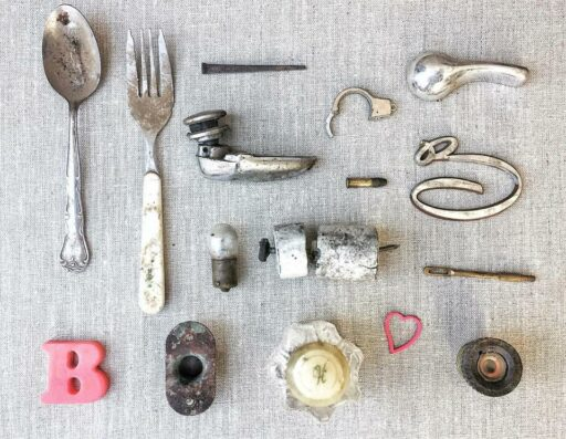 Found objects - farmhouse archeology