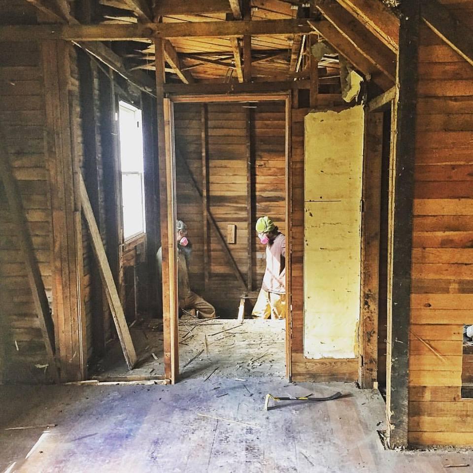 The Old Farmhouse Renovation Inside